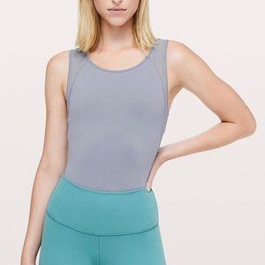 Lululemon Seek the Heat Bodysuit In Lilac Stone